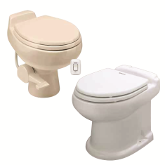Gravity Discharge Toilets